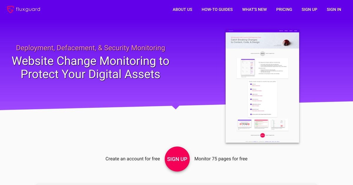 Website Change Monitoring of BBC News - Fluxguard